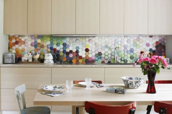 25 stylish hexagon tiles for kitchen walls and