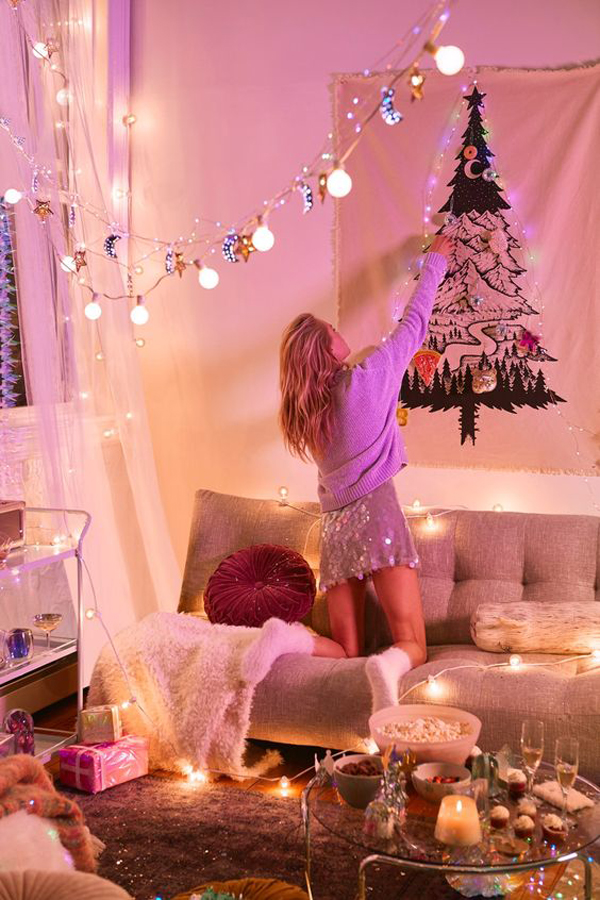 Diy College Bedroom Decoration For Christmas Home Design