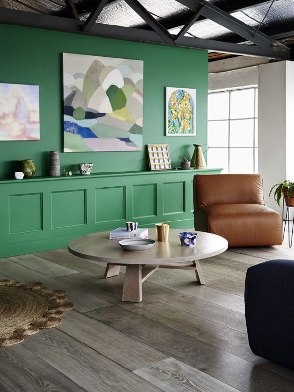 Green Is The Color Of Nature That Previously Was Not Used For Coloring Home But In 2016 Proved To Be A Lot Room This Can