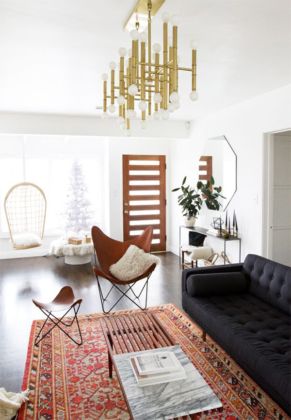 short legs tend to be small with minimal decorations and ornaments also be one of the characteristics that strengthen the mid century style - Mid Century Decor