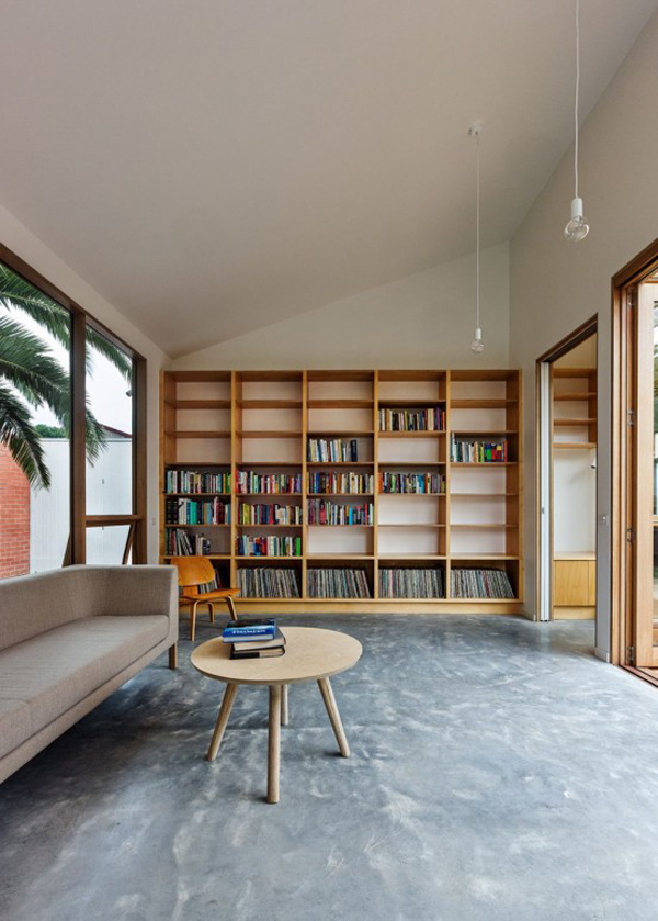 Minimalist Home Library Ideas