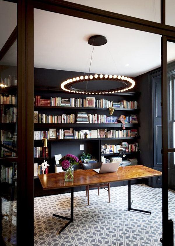 Modern Home Library Design 25 modern home library design for casual look | home design and