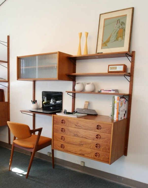 small-mid-century-home-office-decor