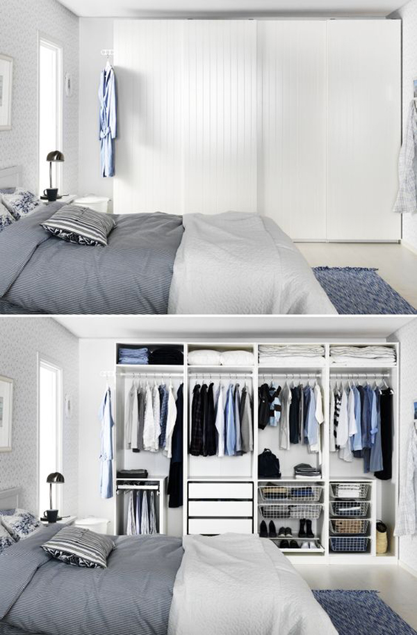 10 hidden closet ideas for small bedrooms home design