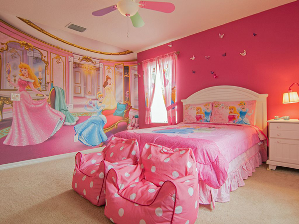 20 Inspired Disney Bedroom Theme For Little Girls
