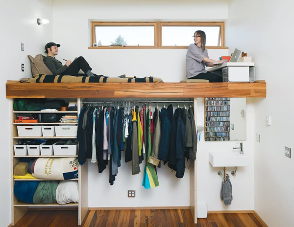 clever loft beds with under storage ideas | Home Design And Interior