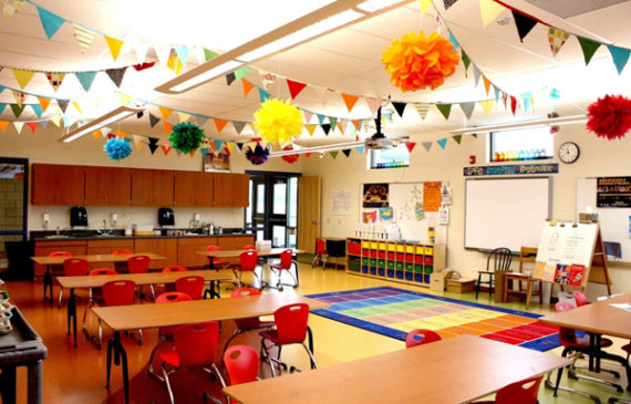 Classroom Decoration Colorful ~ Classroom ideas home design and interior