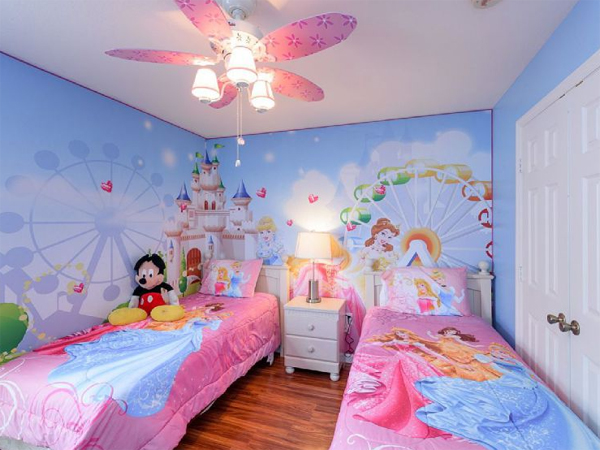 Gallery Of 20 Inspired Disney Bedroom Theme For Little Girls Part 72