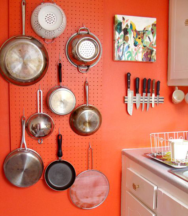 20 Smart DIY Pegboard Storage In Your Kitchen | Home Design And Interior