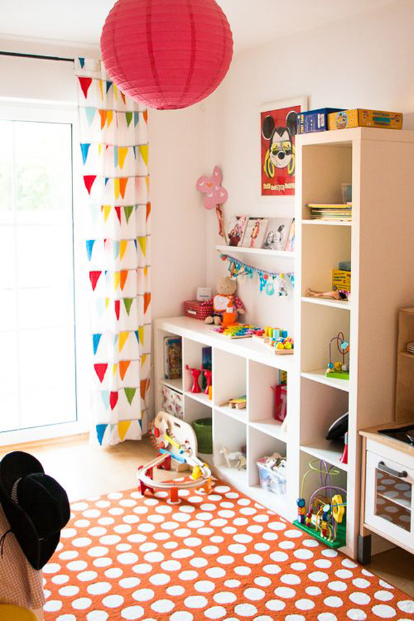 ikea kallax shelving unit for kids room. Black Bedroom Furniture Sets. Home Design Ideas