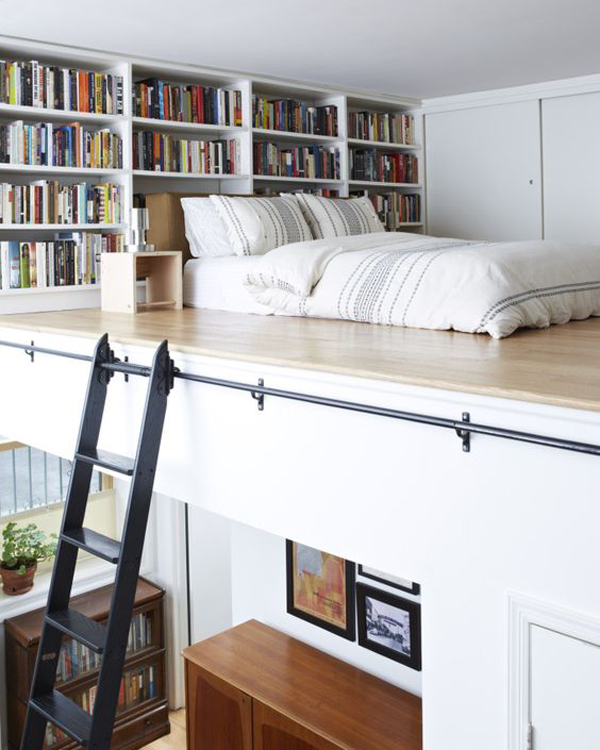 25 Small Bedroom Ideas That Are Look Stylishly Space Saving: 15 Clever Loft Beds With Space Saving Ideas