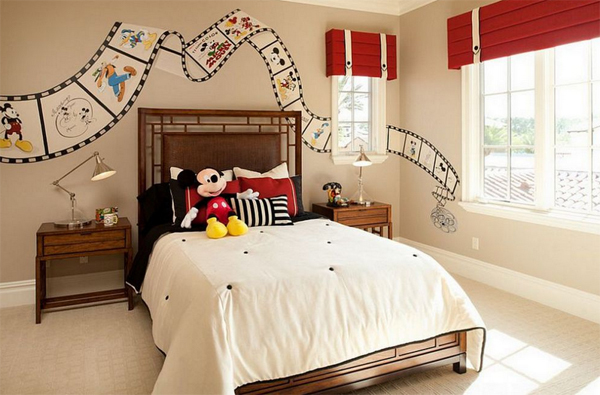 mickey mouse bedroom for girls home design and interiormickey mouse bedroom for girls