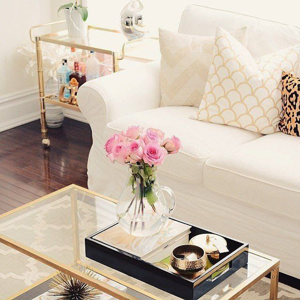 Modern Coffee Table Decoration