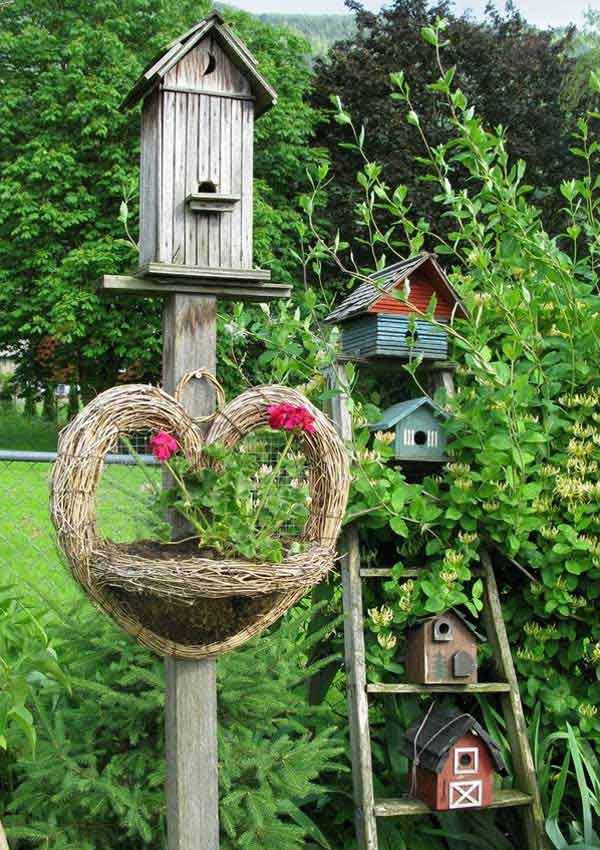 Creative Bird Houses