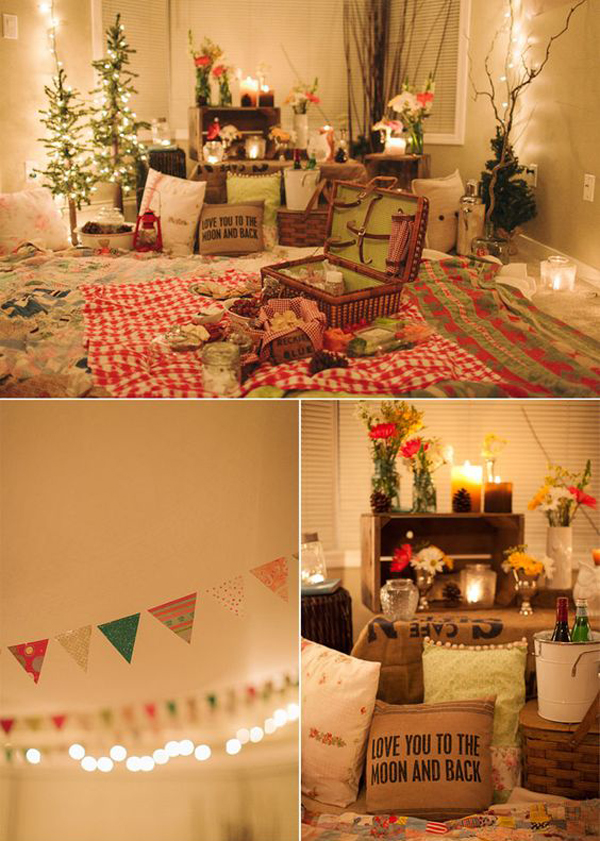 10 Bohemian Romance Decoration For Valentine Surprise | Home Design And  Interior