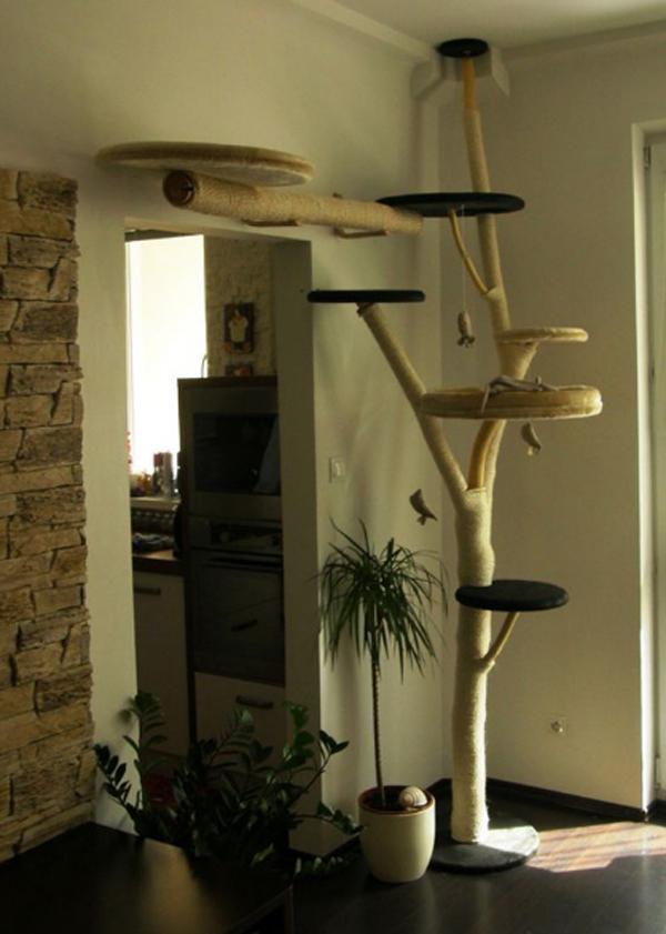 Simple-diy-cat-tree-design