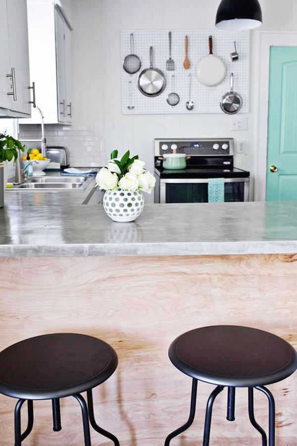 Small kitchen pegboard storage ideas for Kitchen pegboard ideas