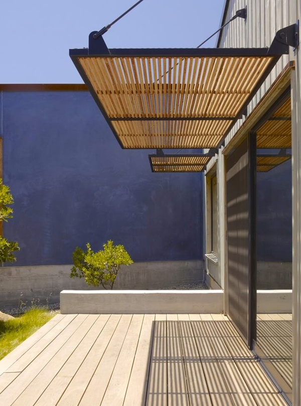 Weather Resistant Wood Screen Ideas