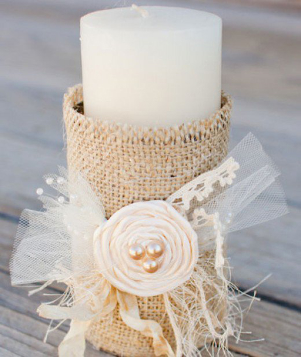 Diy Burlap Wedding Ideas: 25 Cheap And Simple DIY Wedding Decorations
