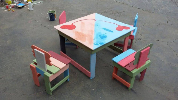 25 Awesome Diy Pallet Furniture For Kids Home Design And