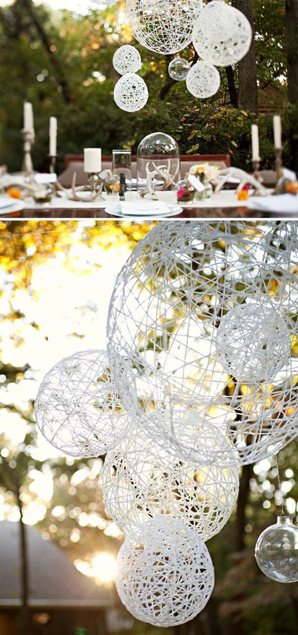 25 cheap and simple diy wedding decorations home design for Cheap and easy wedding decorations