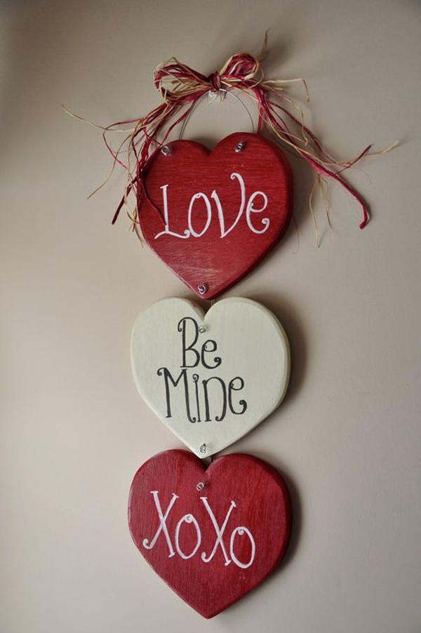 Valentine Wall Decor Diy : Adorable diy valentine crafts for home decor