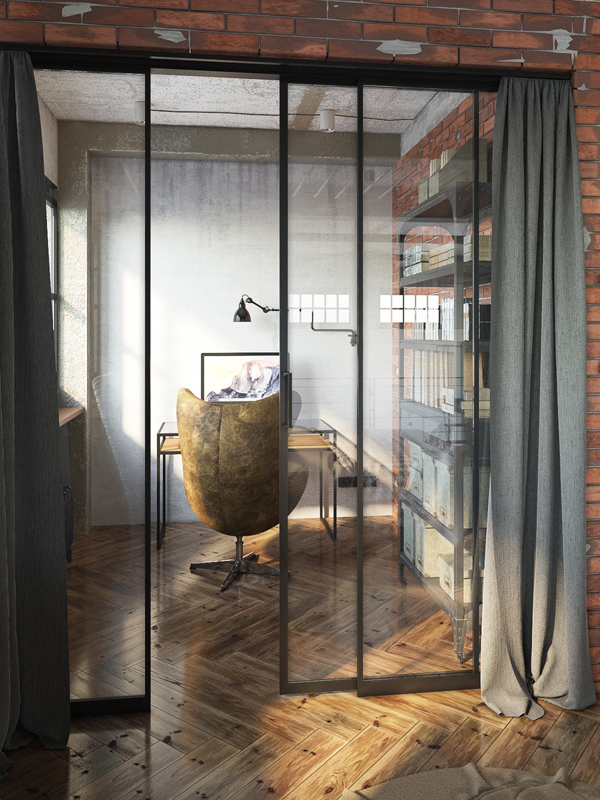 Industrial Study Room: Impressive Industrial Lofts In Budapest