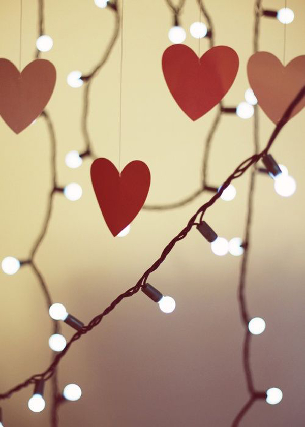 10 magical and romantic string lights for valentine days - Valentine String Lights
