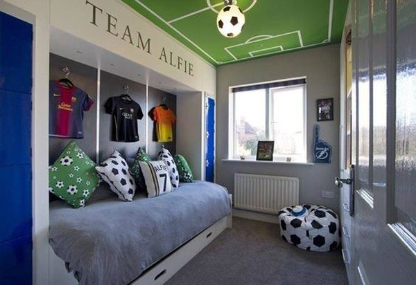 25 Modern Teen Boys Room With Sport Themes Home Design