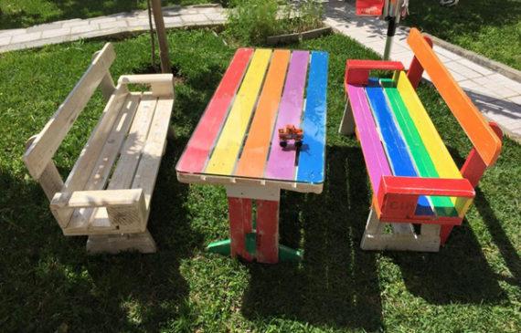25 awesome diy pallet furniture for kids - Garden Furniture Kids