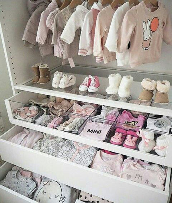 20 Beautiful Baby Boy Nursery Room Design Ideas Full Of: 20 Simple And Practical Nursery Organization Hacks