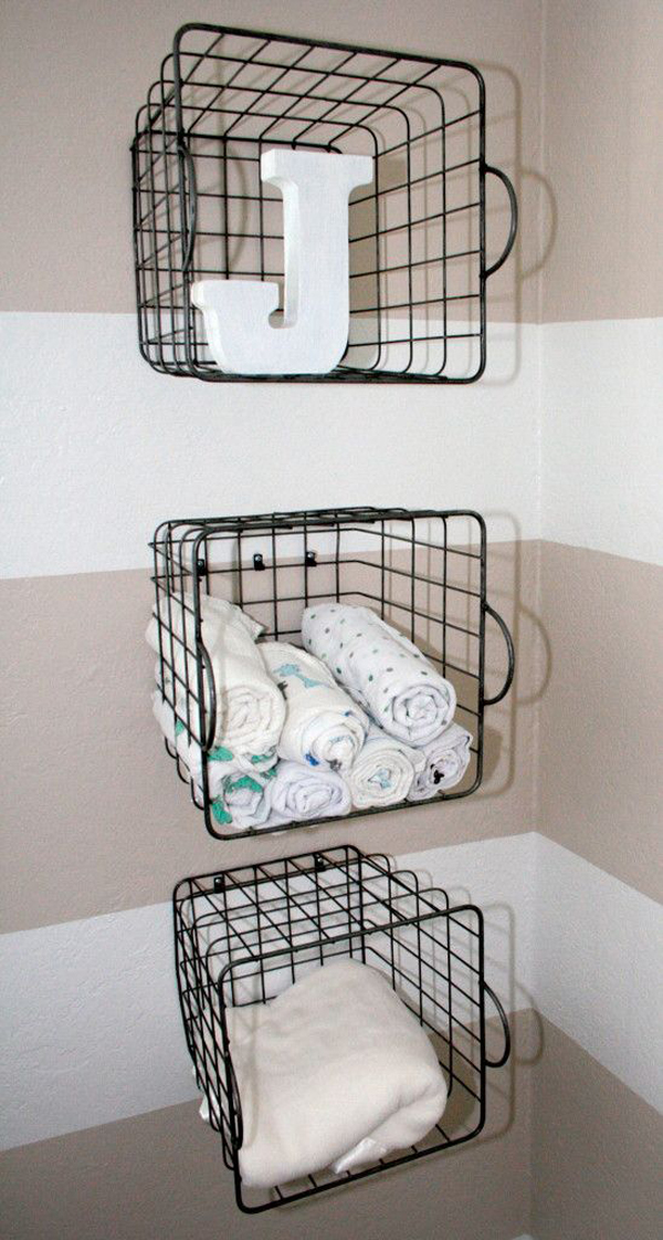 20 Simple And Practical Nursery Organization Hacks Home
