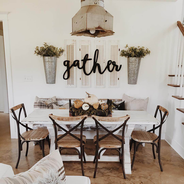 Old Country Dining Room Tables: 25 Calmness Dining Room With Farmhouse Style And Vintage