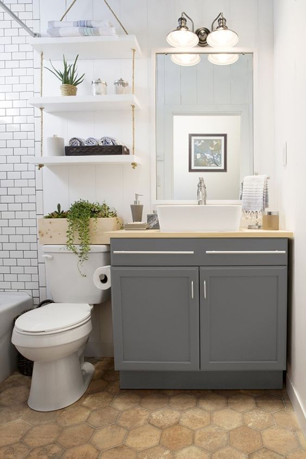 35 smart diy storage ideas for tiny bathroom home design and interior - Smart bathroom design ...