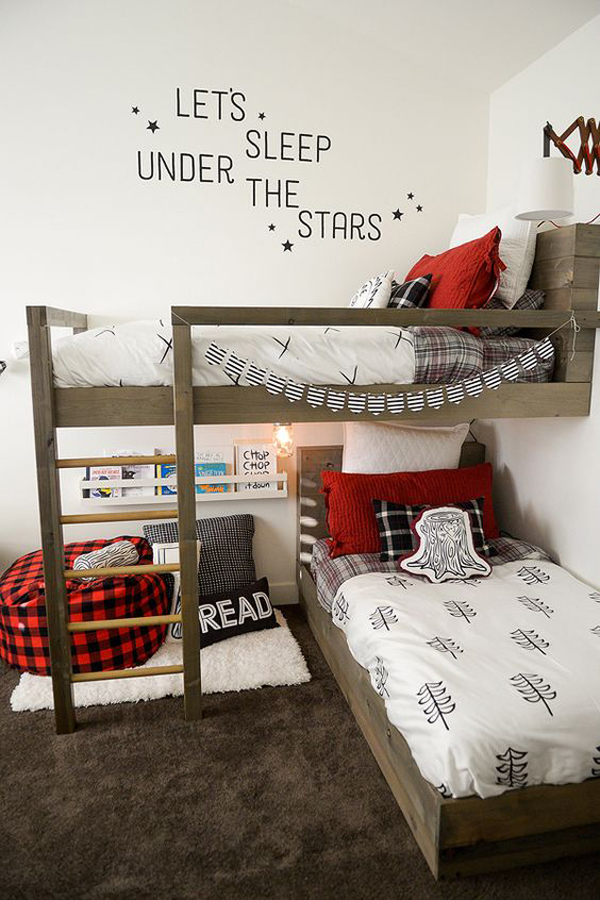 20 cozy diy reading nooks for kids home design and interior for Bed nook ideas