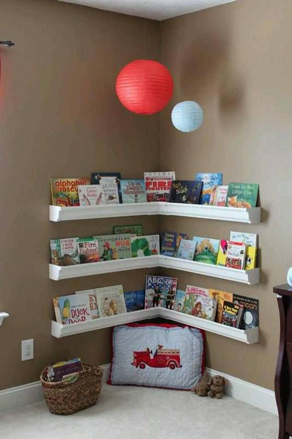 kids-playroom-with-corner-bookshelves