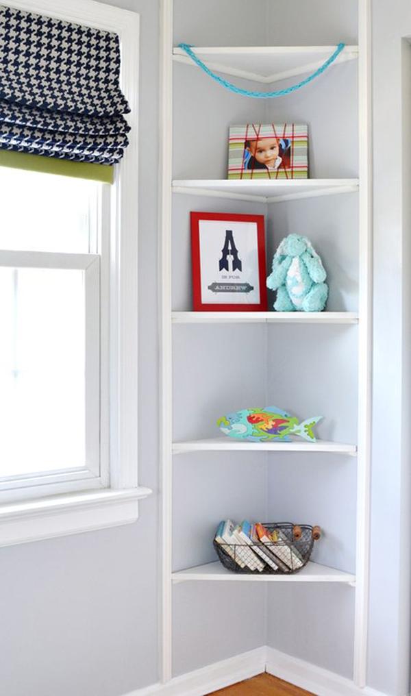 Easy Diy Corner Shelves With Extra Storage Homemydesign