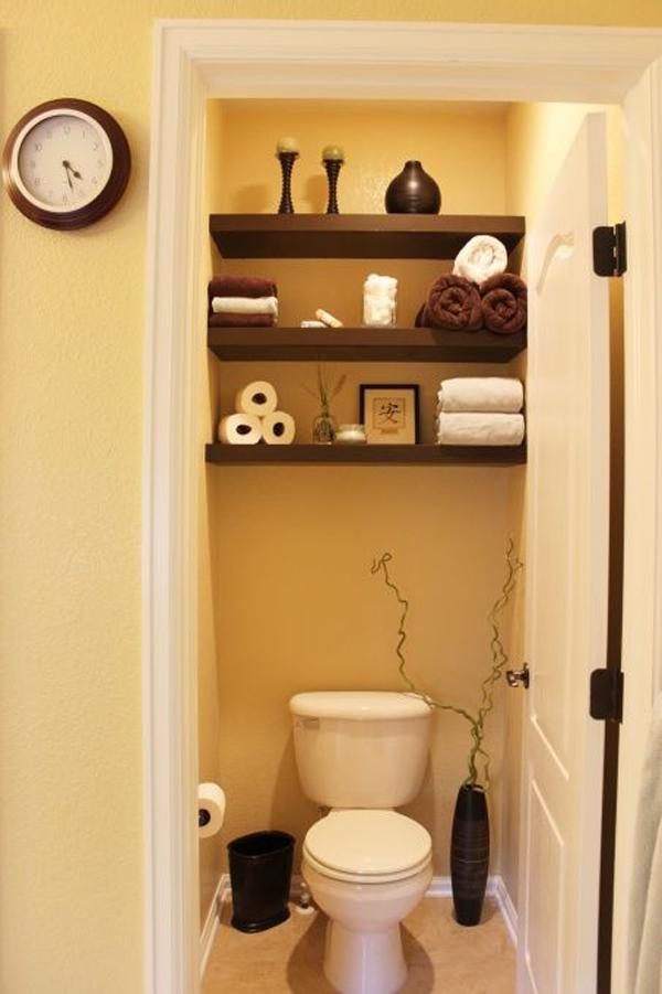 35 smart diy storage ideas for tiny bathroom  homemydesign