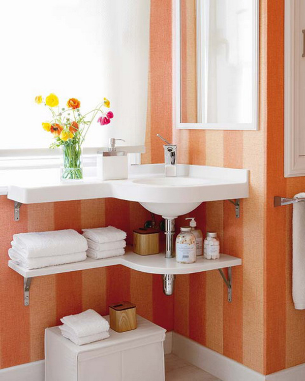 35 smart diy storage ideas for tiny bathroom home design and interior have small bathrooms is often difficult for you but you do not consider yourself unlucky you only need a few tricks and start thinking creatively to solutioingenieria Images