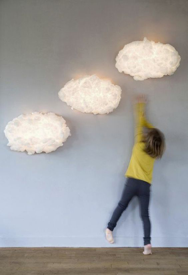 10 cute and adorable wall lamps for kids room home for Lights for kids room