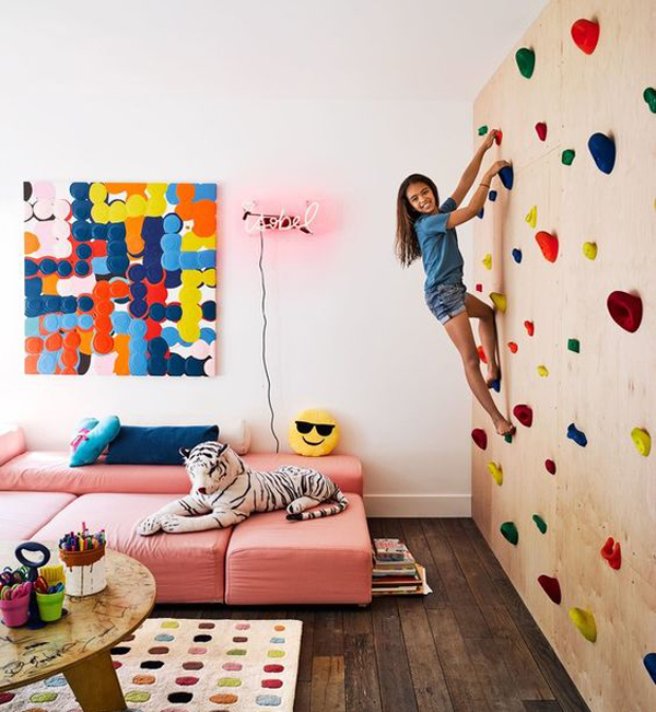 25 Fun Climbing Wall Ideas For Your Kids Safety Home