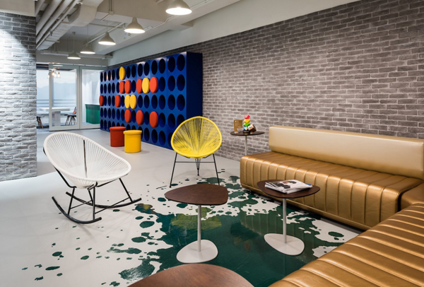 This Time Spatial Concept Actually Designing An Office Space That Is Unique  And Unusual, Spatial Concept Comes With Three Very Different Concepts, ...