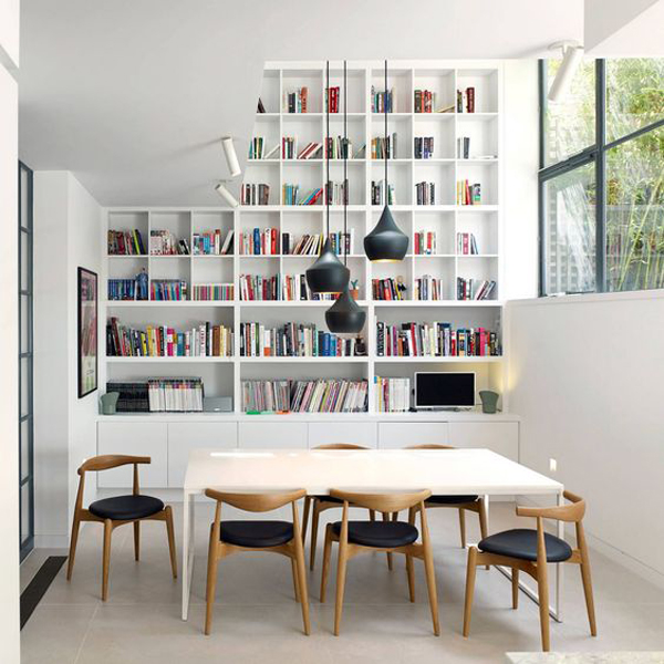 Ikea Dining Room Ideas: 20 Simple IKEA Billy Bookcase For Limited Space