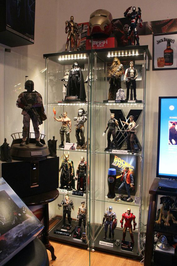 25 Cool Ways To Action Figure Display Home Design And