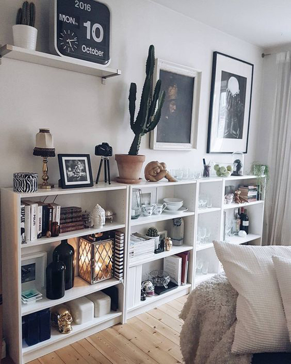 20 Simple Ikea Billy Bookcase For Limited Space Home