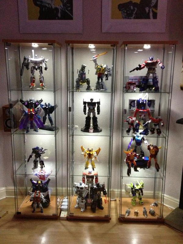 Glass Showcase Designs For Living Room: 25 Cool Ways To Action Figure Display