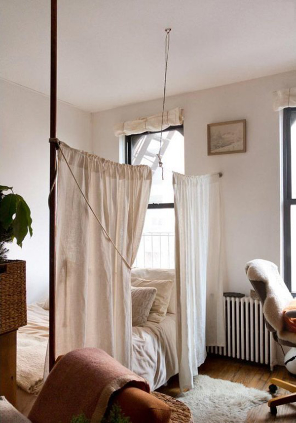 10 smart ways to tiny room dividers home design and interior for Industrial room dividers