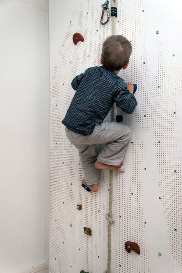 Rock Wall For Kids: 25 Fun Climbing Wall Ideas For Your Kids Safety