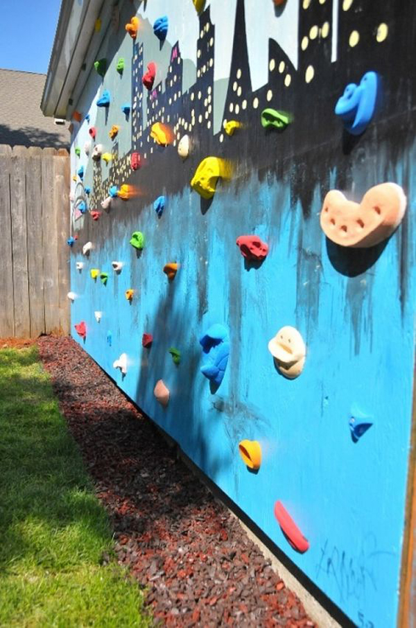 25 Fun Climbing Wall Ideas For Your Kids Safety | Home ...