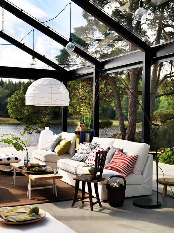 15 Cozy Indoor Outdoor Living Room Ideas Home Design And Interior